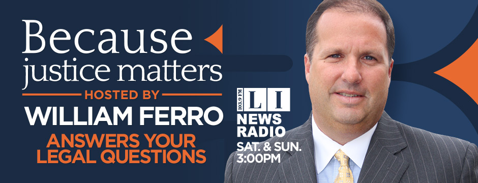 Because Justice Matters - Hosted by William Ferro